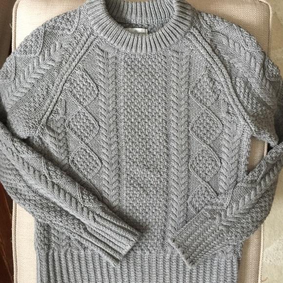 4e0fd7f232dc5 L.L. Bean Sweaters - L.L. Bean Signature Cotton Fisherman s Sweater